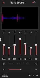 Equalizer - Bass Booster - Volume Booster Pro Screenshot