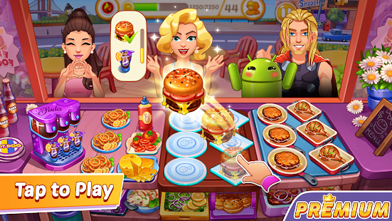Cooking Speedy Premium: Fever Chef Cooking Games Screenshot