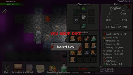 Master of Rogues - The Seven Artifacts (roguelike) Screenshot