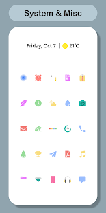 Precise : Minimal Icon Pack Screenshot