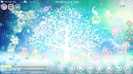 My Celestial Tree VIP - Unique Beautiful Game Screenshot