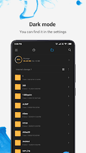 Mi File Manager - free and easily Screenshot