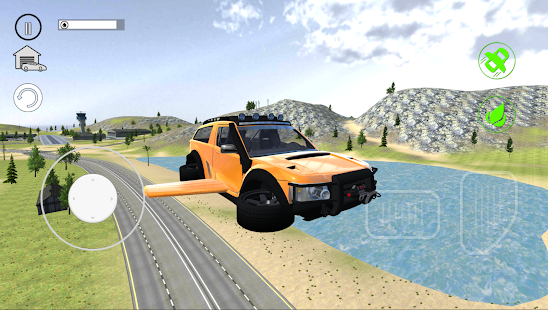 Flying Car City 3D Screenshot