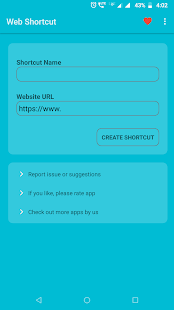Website Shortcut Maker - URL Shortcut Maker Screenshot