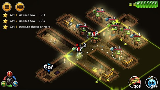 WhamBam Warriors VIP - Puzzle RPG Screenshot