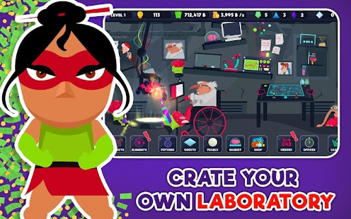 Super Hero Factory Inc Pro Screenshot