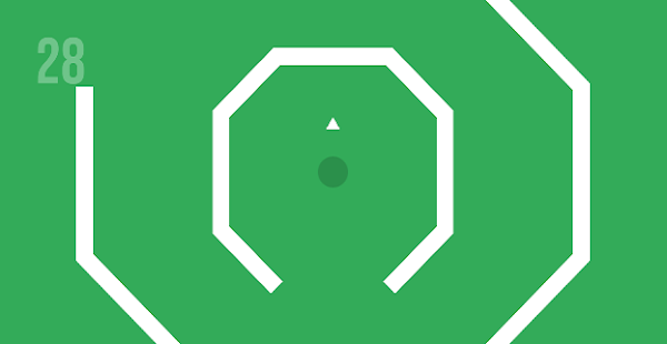 OCTA - GONE : Minimal Direction Dodge Game Screenshot