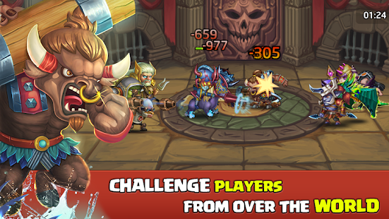 Heroes Legend - Epic Fantasy RPG Screenshot
