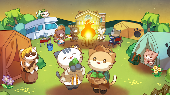 Cat Forest : Healing Camp Screenshot