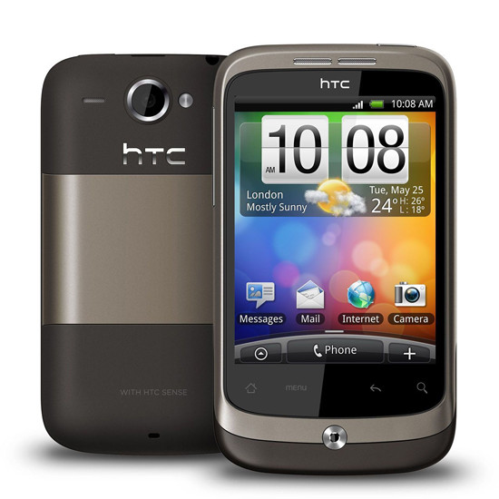HTC Wildfire - Android telefón - 02