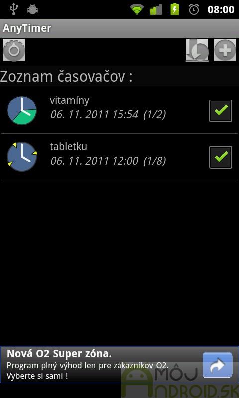 Ako používať dátumové údaje aplikácie