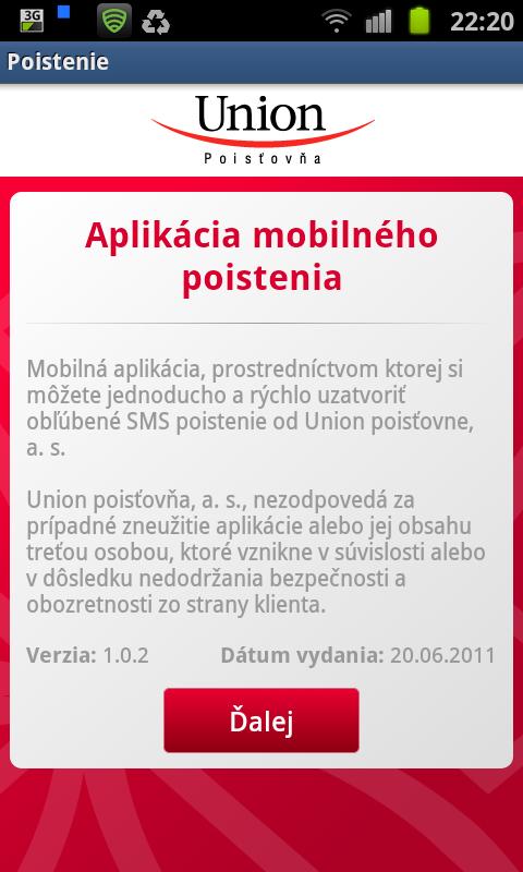 4d195ff52 Slovenská Android aplikácia – Union mobilné poistenie - MojAndroid.sk