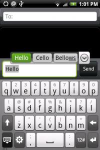HTC klávesnica