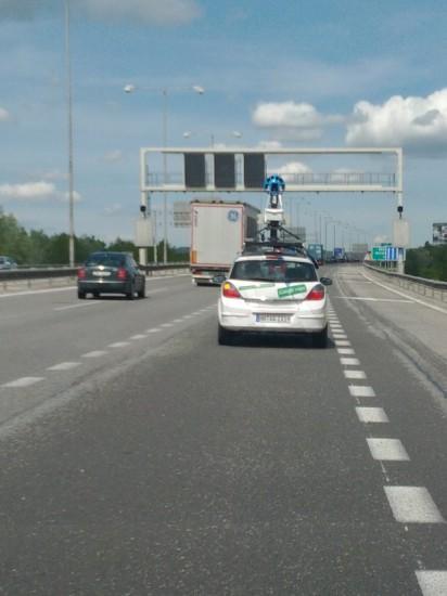 Google auto StreetView BA most Lafranconi