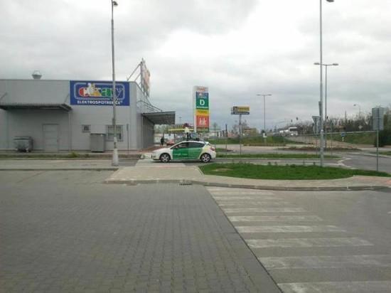 Google auto StreetView Komarno