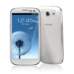 Samsung Galaxy S III (biely) - Android telefón - 01