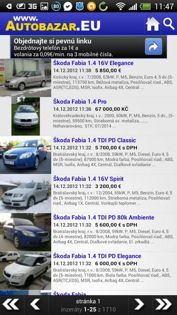 Autobazár EU  predaj a kúpa ojazdeného auta priamo z mobilu ... ba190c1b4eb