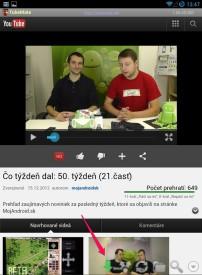 Ako sťahovať Youtube videá do Androidu