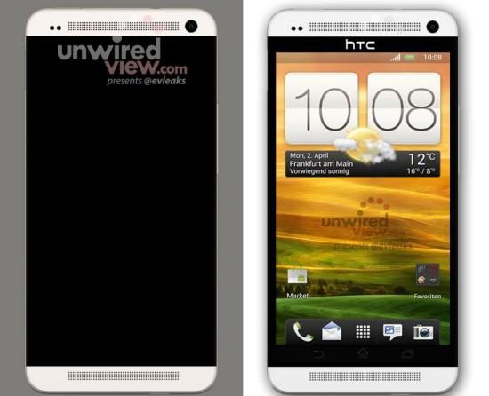 HTC M7: Prvý render novej vlajkovej lode