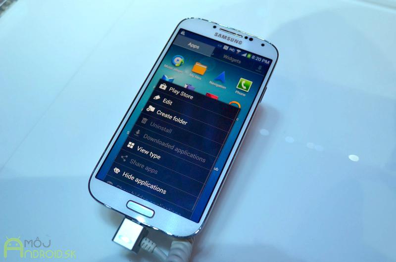 Samsung Galaxy S4  Nový Galaxy oficiálne predstavený - MojAndroid.sk 8bc9a4ed12a