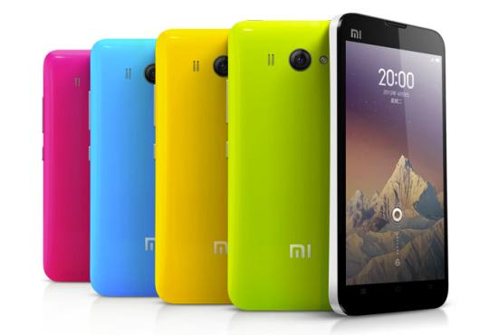 Xiaomi MI-2S Android telefon