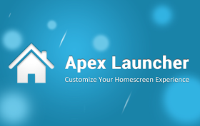 APEX Launcher aktualizacia