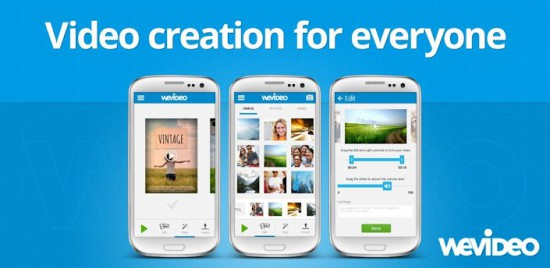 WeVideo video editor Android