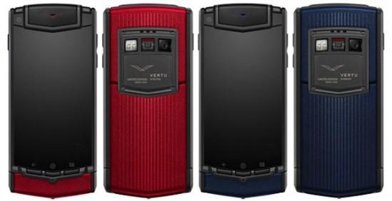 Vertu Ti Color luxusny Android