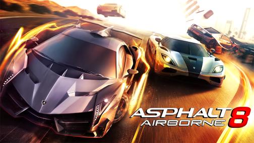 Asphalt 8 Android hry
