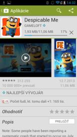 zaciname android smartfón 3cast_8