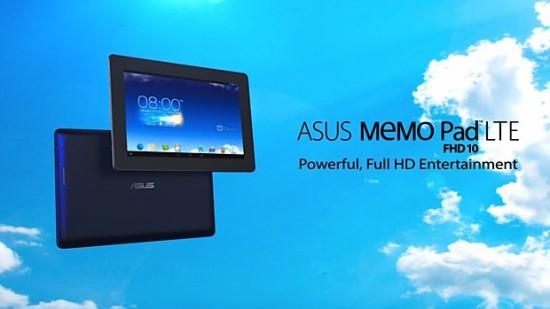 ASUS MeMo Pad 10 FHD LTE