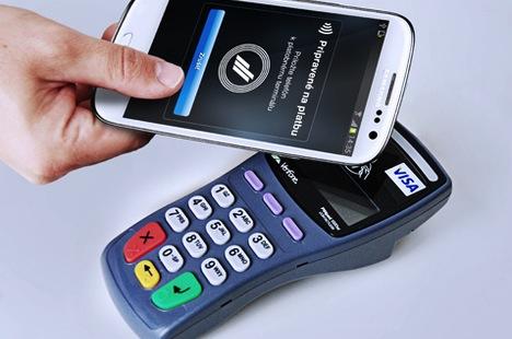 bezkontaktne platby Android