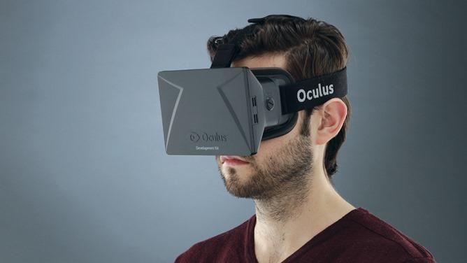 0452eaf39 Oculus Rift je špeciálne navrhnuté zariadenie s clonou na oči, v ktorej sa  ukrýva 7 palcový displej s dvoma šošovkami, každou pre jedno oko.