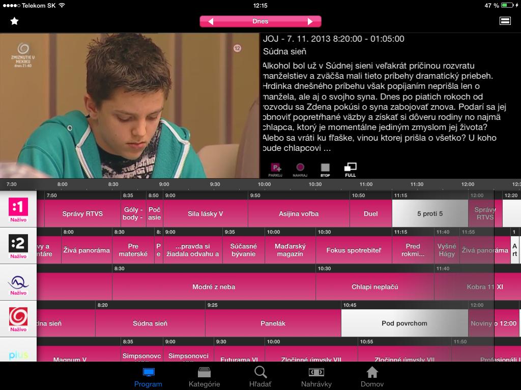 Telekom uviedol novú verziu Magio TV Go 46c08b8502b