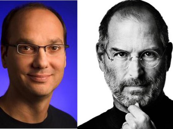Steve Jobs Andy Rubin