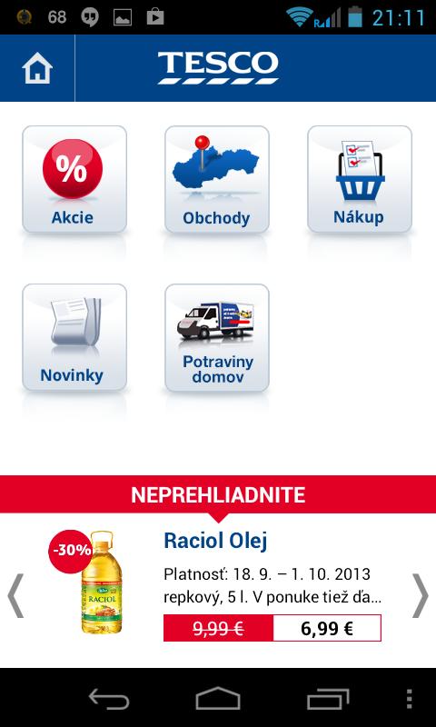09fbcdab18b8c Prehľad Android aplikácií obchodných reťazcov na Slovensku