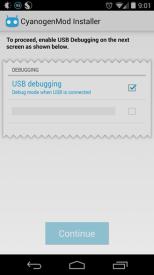 cyanogen mode instalator