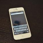 verná kópia iPhone s Androidom 1