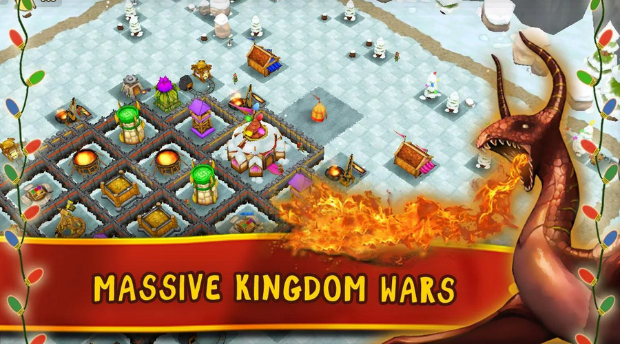 Now featuring massive KINGDOM WARS. Prove your Kingdom's glory in our lead