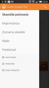 Hudba Google Play a