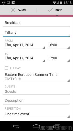 Google Kalendár b