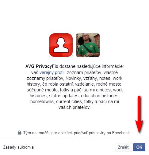 PrivacyFix návod 4