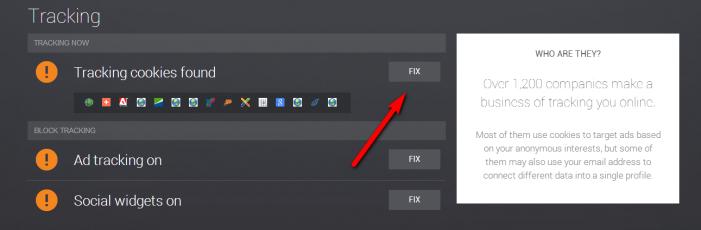 PrivacyFix návod 9