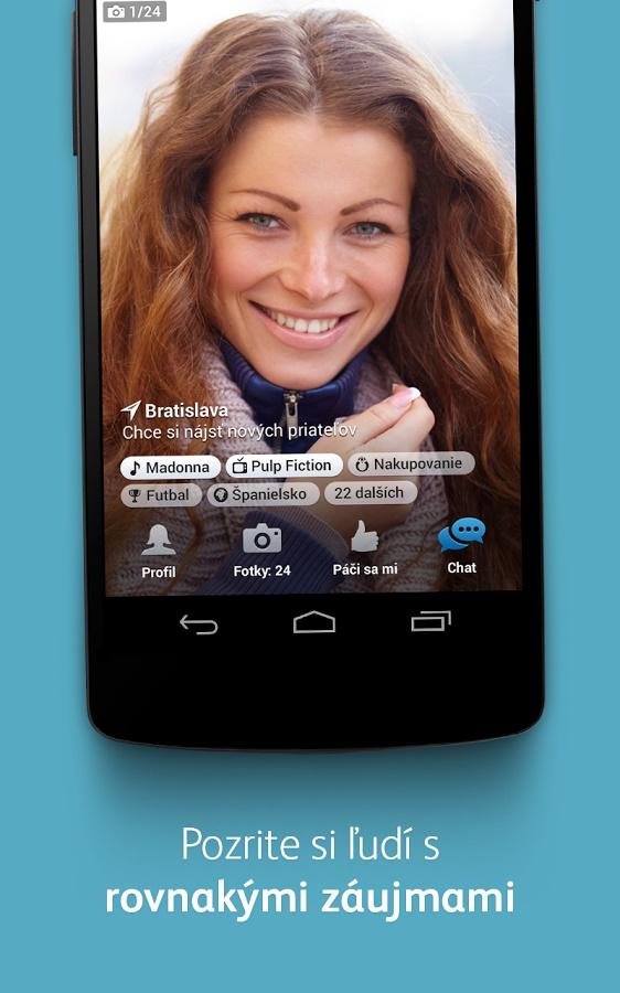 Android Zoznamka Apps najlepšie 2013