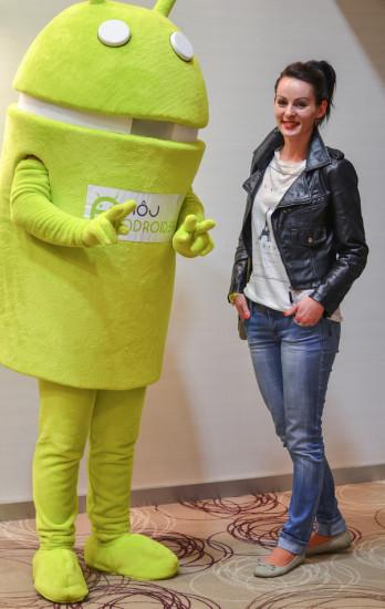 FInalistka Miss Android z Košíc
