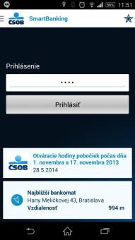 bankové aplikacie-CSOB SmartBanking-1