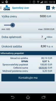 bankové aplikacie-CSOB SmartBanking-10