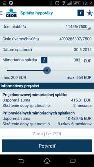 bankové aplikacie-CSOB SmartBanking-6