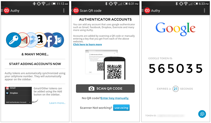 Authy a
