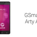 GSmart Arty A3: Android smartfón so 4-jadrom za 120 EUR
